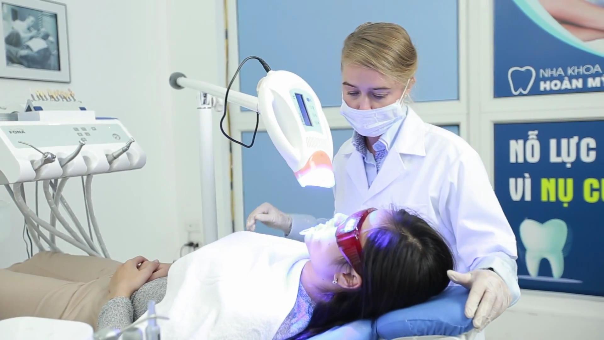 Thực hư về làm trắng răng có hại không?