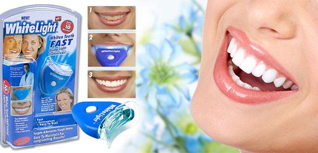 Dụng cụ tẩy trắng răng white light có tốt thực sự không? 1