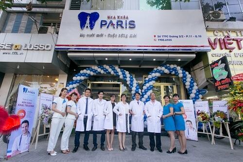 Tưng bừng khai trương chuỗi cơ sở nha khoa Paris tại TP. Hồ Chí Minh