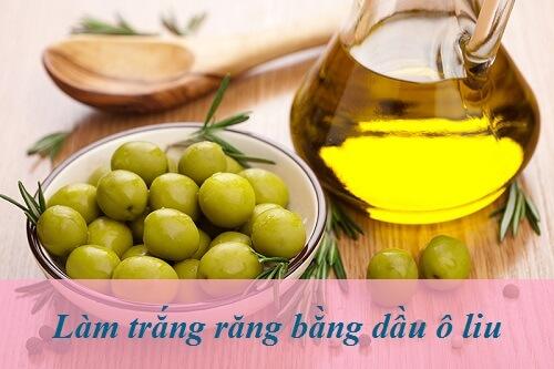 Cách làm trắng răng bằng dầu oliu hiệu TẠI NHÀ hiệu quả sau 5 phút 1