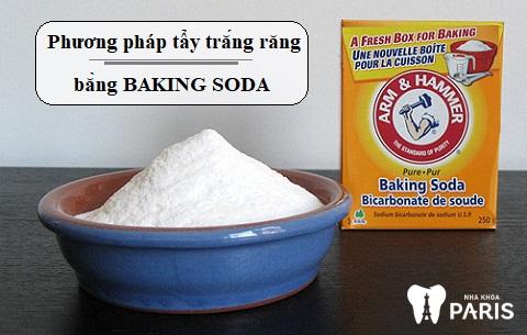 Baking soda là nguyên liệu làm trắng răng hiệu quả, tiết kiệm chi phí