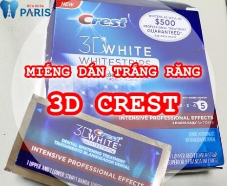 Cách sử dụng miếng dán trắng răng Crest tại nhà an toàn và hiệu quả 1