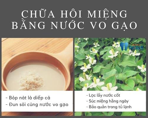 Cách chữa hôi miệng Tại Nhà đơn giản bằng nước vo gạo