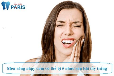 Cơ địa khách hàng cũng là yếu tố quyết định tẩy trắng răng có đau không