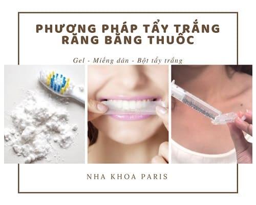 Tẩy trắng răng có hại không? Tẩy trắng răng bằng thuốc