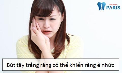 Bút tẩy trắng răng có thể dẫn đến nhiều nguy hại khôn lường