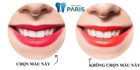 Răng ố vàng nên chọn son màu gì giúp răng trắng sáng hơn?