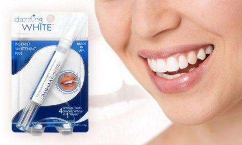 Bút trắng răng dazzling white review có tốt không?